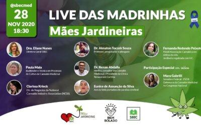 Live das Madrinhas – 28/11 às 18h30min.